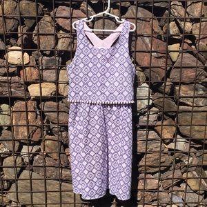 3/$20{Old Navy} Girls 14 Pink/Blue Sun Dress